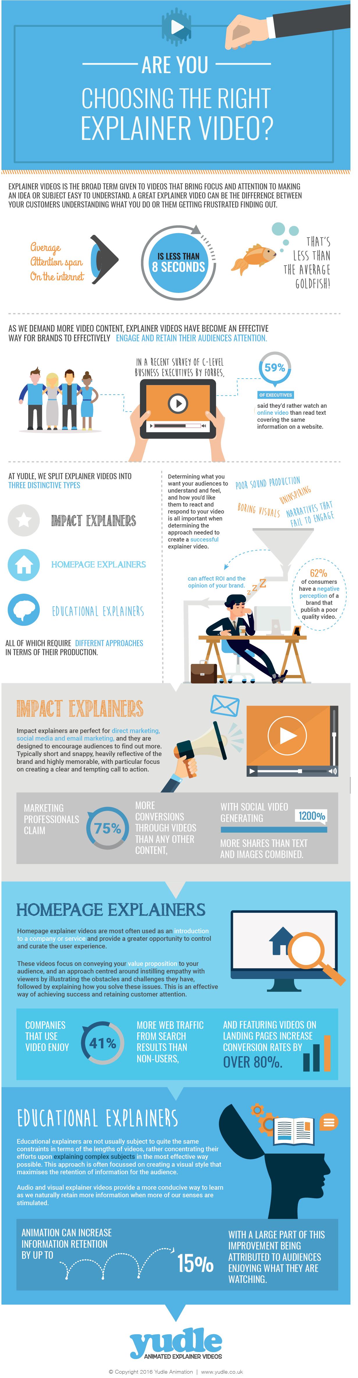 Infographic video explainer