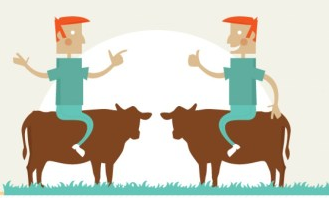 An Economic Tale of Two Cows