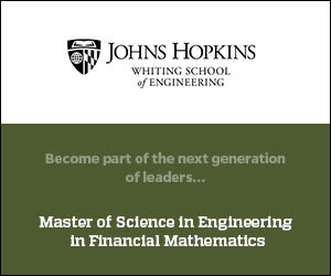 Johns Hopkins Financial Mathematics