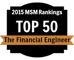 2015 MSM Top 50 Rankings Badge