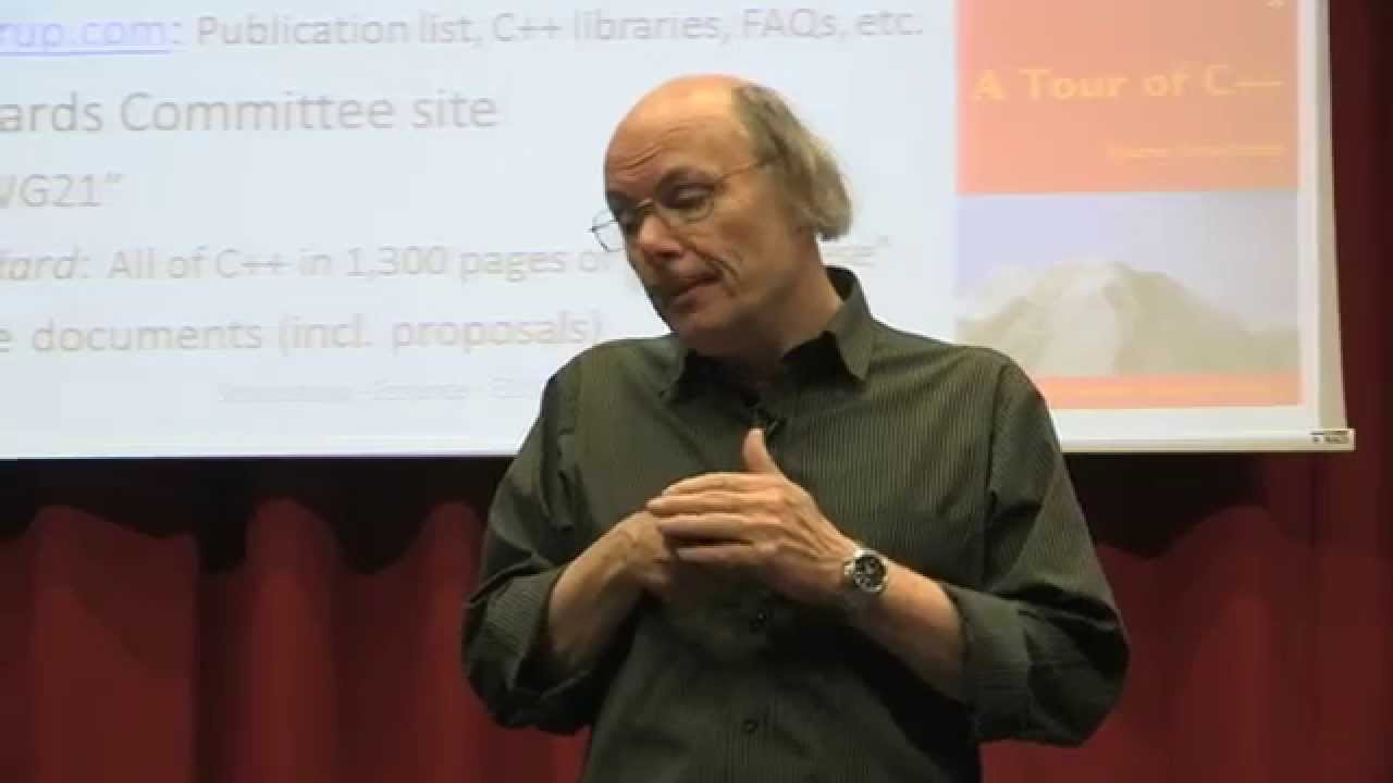 Bjarne Stroustrup – The Essence of C++