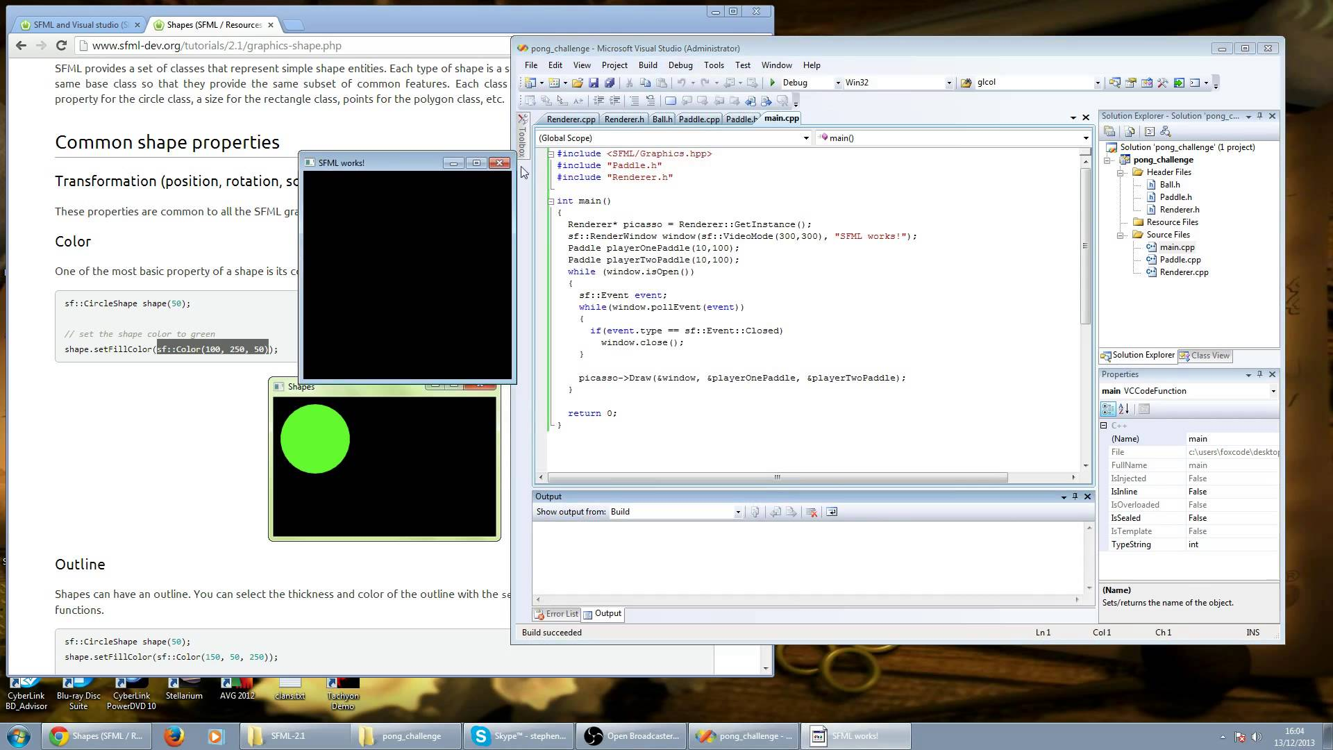 C++ vs Python: 1 Hour Pong Challenge