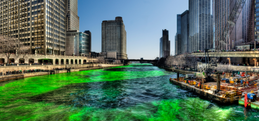 chicago river st patricks day