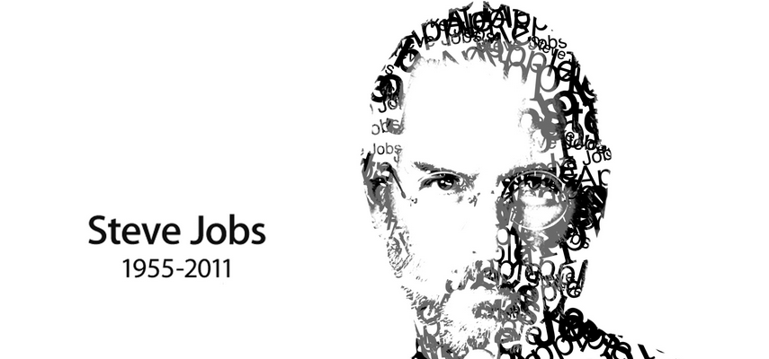 steve jobs typography