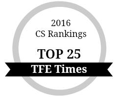 CS Rankings Silver