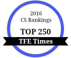 CS Rankings Top 250