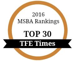 MSBA Rankings Bronze