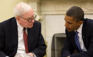 warren buffett, obama