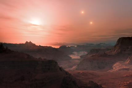 Gliese_667_Cc_sunset