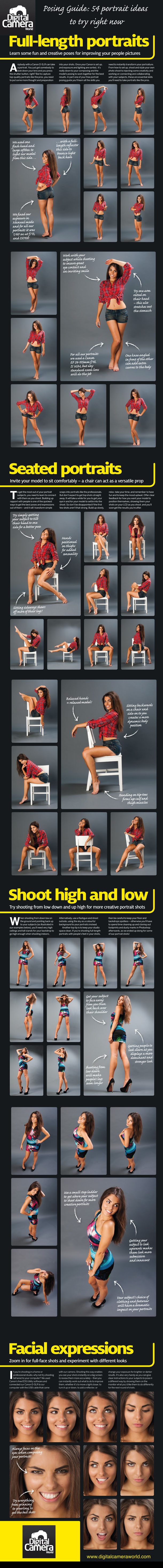 Posing Guide: 54 Portrait Ideas to Try Right Now