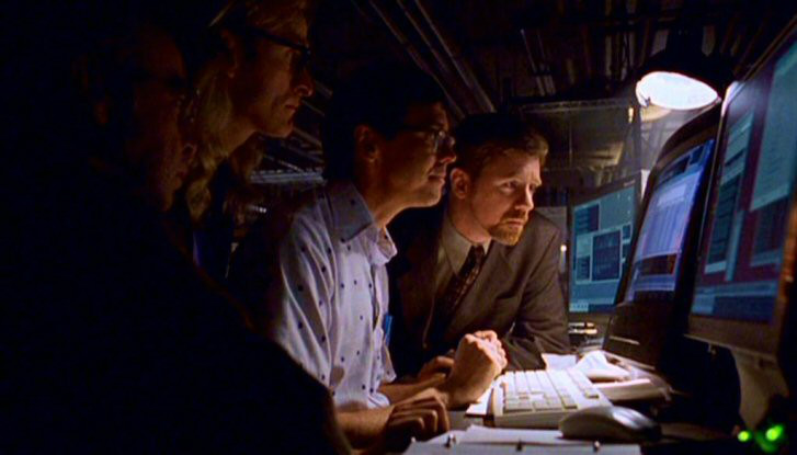 The pilot episode of the Lone Gunmen was about a conspiracy of the US government to hijack an airline and fly it into the World Trade Center to start a profit making war. It aired March 4, 2001.