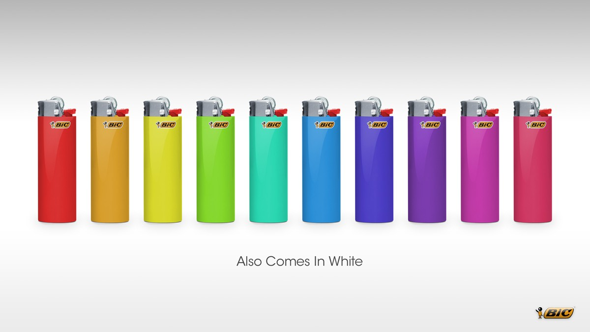 Classic Bic Lighters