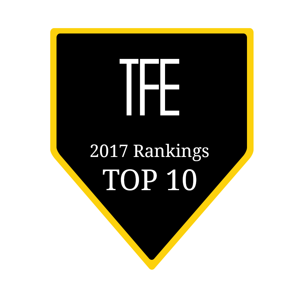 TFE 2017 Rankings Top 10