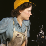 woman working WW2