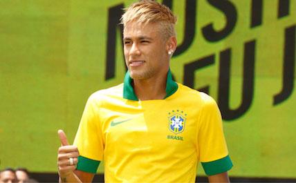 Neymar yellow
