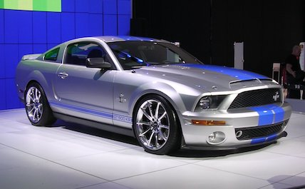 Silver blue Ford