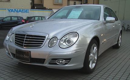 Mercedes silver