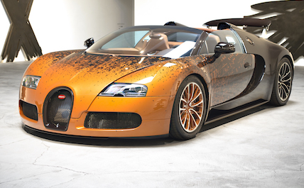 Bugatti Orange