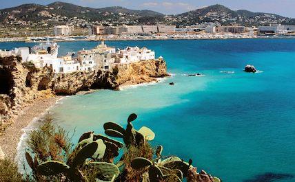 Ibiza view