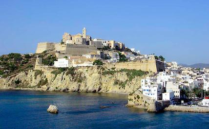 Ibiza cliff