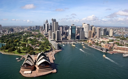 Sydney sky
