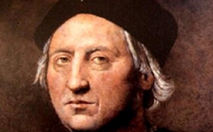 Christopher Columbus face