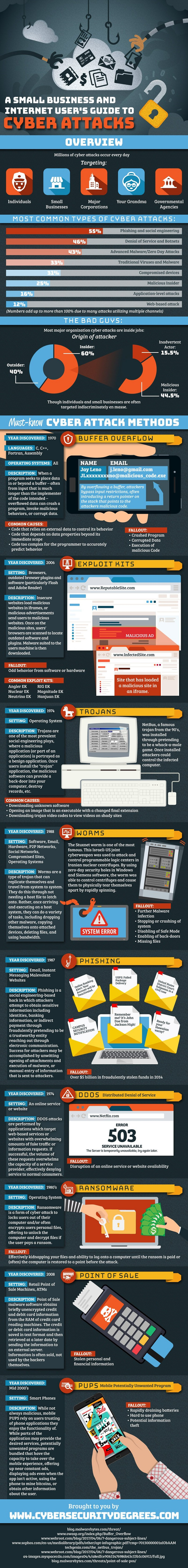 User's Guide to Cyber Attacks