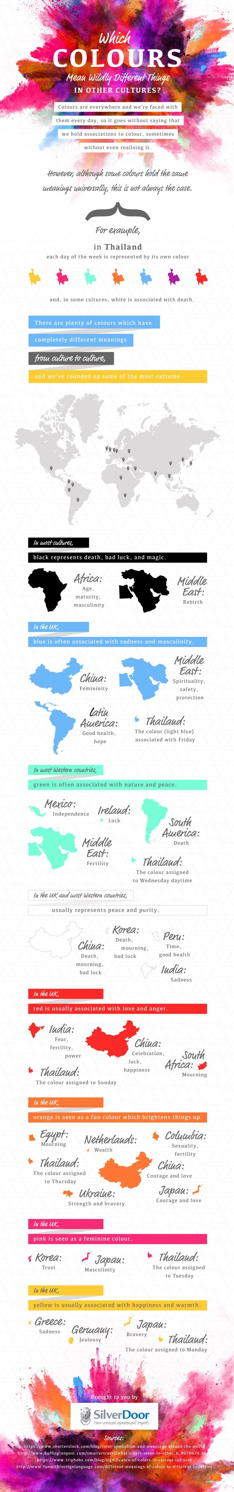Which Colours Mean Wildly Different Things In Other Cultures?
