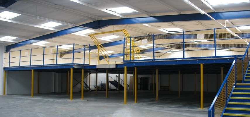 Mezzanine Floors Make Full Use of Available Vertical Space to Create Additional Facilities